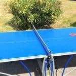 La table de Ping Pong de la villa Groix en Bretagne