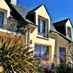 a villa Groix à quelques mètres de la mer situé à Plouhinec en Bretagne