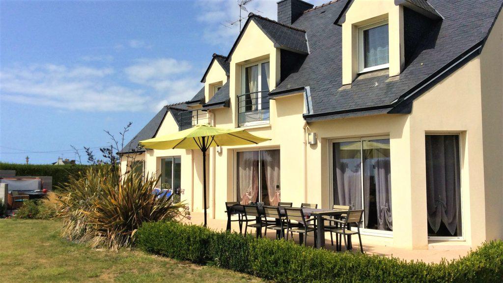 Villa Groix côté jardin