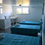 Chambre avec 4 lits d'1 personne en Bretagne Villa Belle Île
