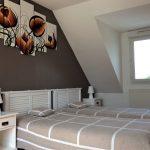 Chambre avec 1 lit de 2 personnes en 140