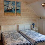 Chambre avec 2 lits de 90 à l'étage