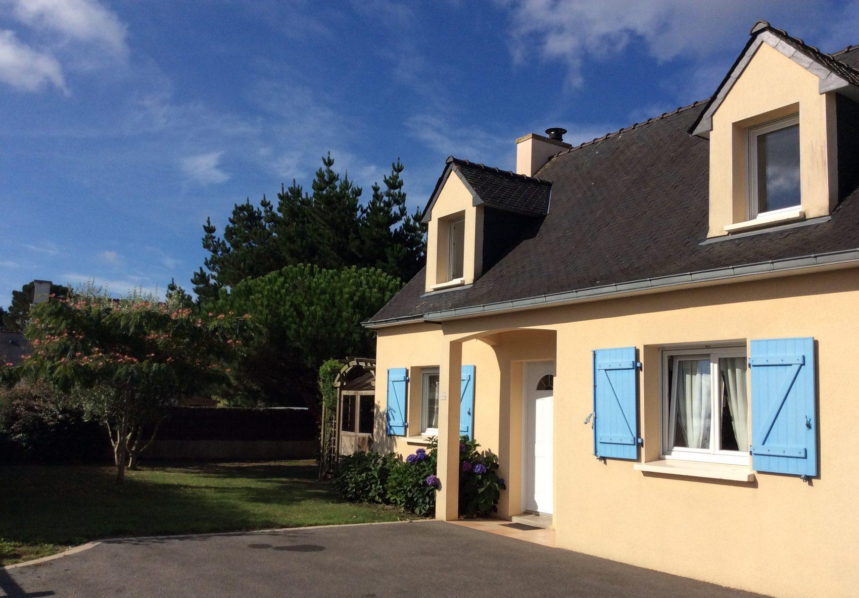 La villa saint cado location de villas avec piscine - Villa bretagne piscine interieure ...