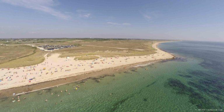 Partir en vacances avec ses animaux à la ria d'Etel : plage et dunes