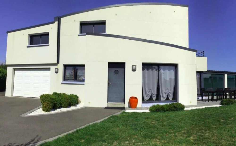 Villa Belle Île, maison dans la ria d'etel, Morbihan, Bretagne