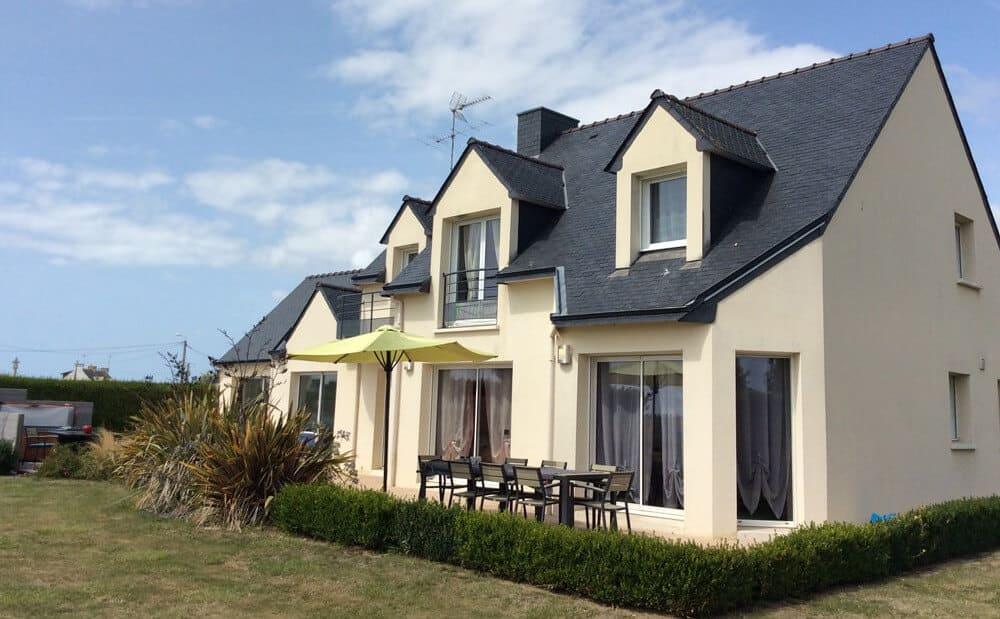 Villa Groix, maison dans la ria d'Etel, Morbihan, Bretagne