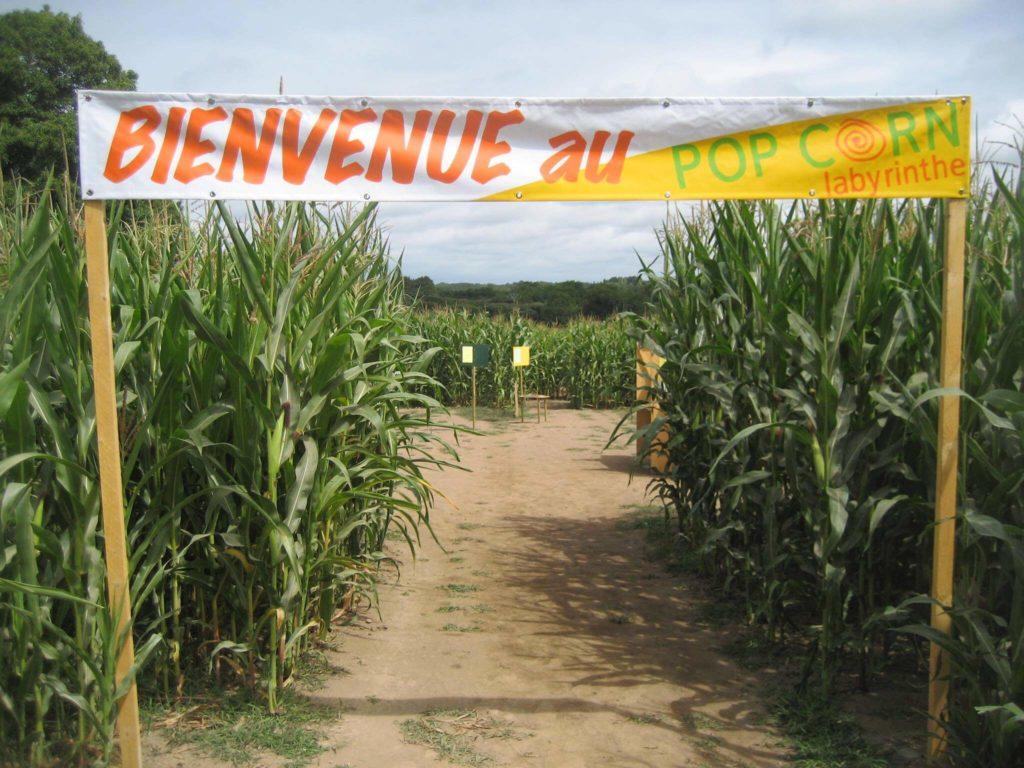 Pop Corn Labyrinthe, Morbihan