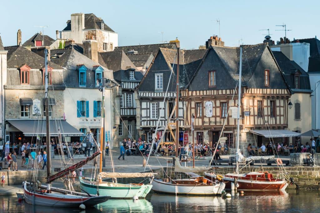 Auray et le port de Saint Goustan - photo par Emmanuel Berthier pour le CRTB