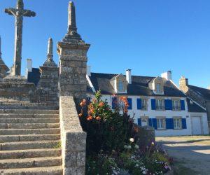 Calvaire St Cado en Bretagne