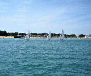 bateaux à voile sur la ria 2