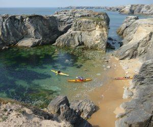 balade en kayak Ria d'Etel